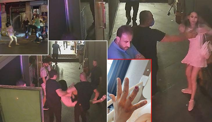 Beyoğlu'nda gece kulübünde dehşet! Küfür etti, tükürdü, parmağını kopardı...