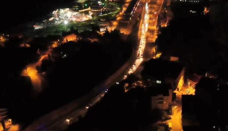 Emniyet araçlarıyla konvoy yapıldı! Emniyet Müdürü Ahmet Metin Turanlı kentten böyle ayrıldı