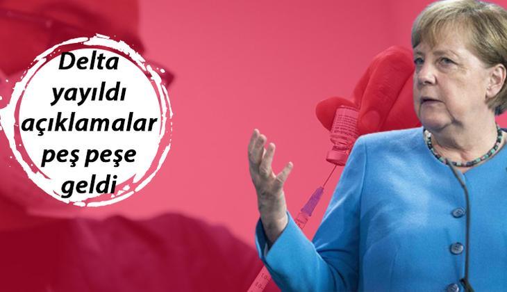 Son dakika... Almanya'dan zorunlu aşı açıklaması: Merkel son noktayı koydu!