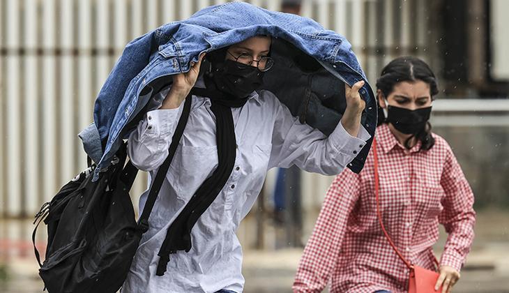 Son dakika: Meteoroloji'de İstanbul ile Kocaeli için hava durumu uyarısı