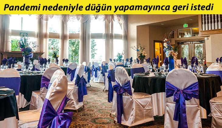 Düğün salonu kaporası ile ilgili mahkemeden emsal karar