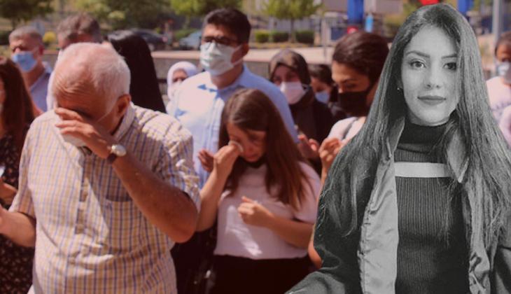 Avukat Gizem Saraçoğlu'na gözyaşlarıyla veda.... 'Üzüntümüz tarifsiz'