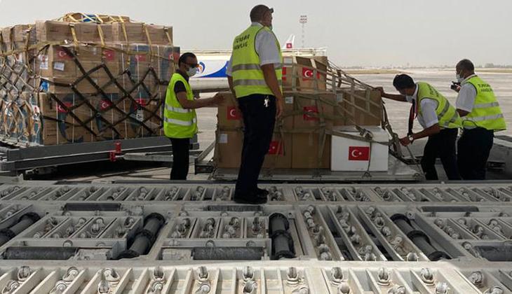 MSB duyurdu: Tunus'a koronavirüs desteği ulaştı