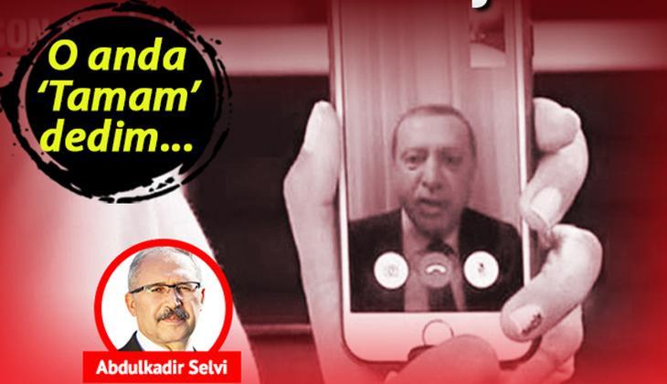 Abdulkadir Selvi: Yeni 15 Temmuzlar olmaması için