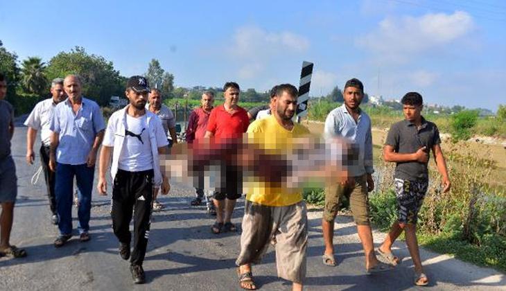 Adana'da çok acı olay... Oğlunun cansız bedenini kucağında taşıdı