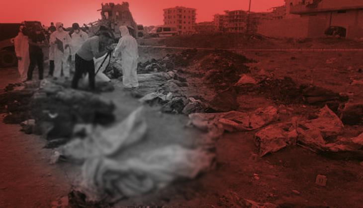 Afrin'de PKK/YPG/PYD katliamı! Ceset sayısı 61'e yükseldi
