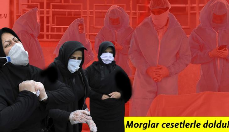 İran'da salgın alarm veriyor... Morglar cesetle doldu!