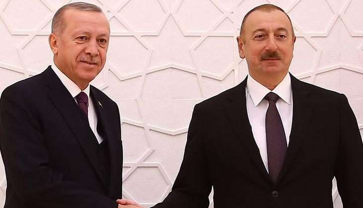 Son dakika... Azerbaycan Cumhurbaşkanı Aliyev'den Cumhurbaşkanı Erdoğan'a telefon