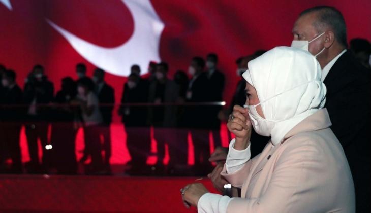 15 Temmuz Demokrasi Müzesi'nde duygu dolu anlar! Gözyaşlarına hakim olamadı