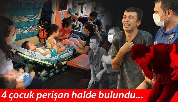 Yer Antalya... Böyle vicdansızlık görülmedi! 4 çocuk perişan halde bulundu