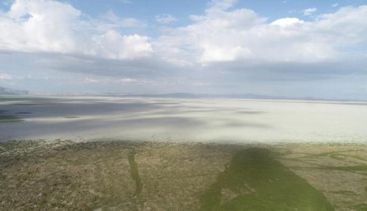 Türkiye'nin beşinci büyük gölüydü! Akşehir Gölü, gölete döndü