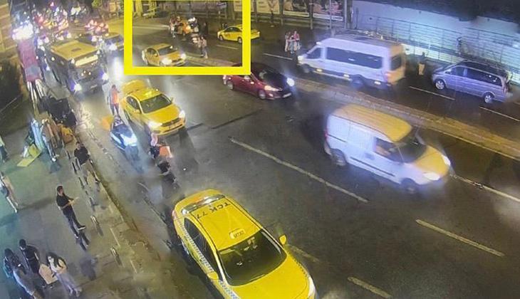 Şişli'de turistlerin kâbusu olan taksici yakalandı