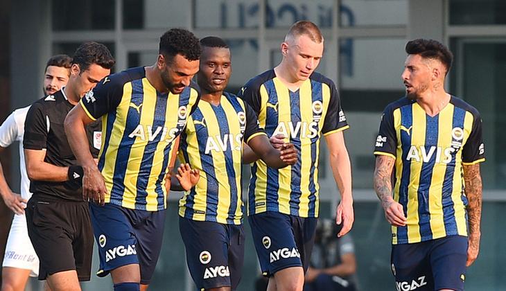 Son Dakika Fenerbahçe 4-1 Kasımpaşa (Maçın özeti ve golleri