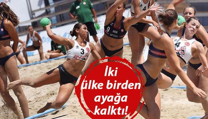 Kadın sporcuların 'münasip' giysi tartışması infial yarattı!
