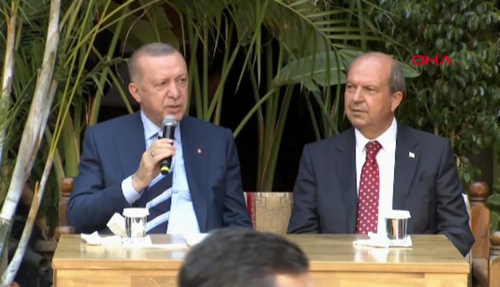 Cumhurbaşkanı Erdoğan KKTC'de gençlere seslendi