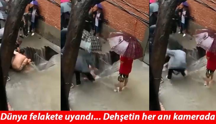 Son dakika haberi... Görülmemiş kâbus: Çin'de sel felaketi çok sayıda can aldı... Dehşet anları saniye saniye kamerada!