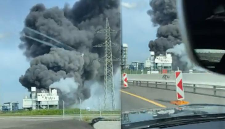 Son dakika: Almanya'da büyük patlama!