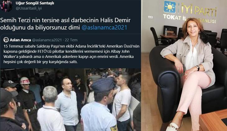15 Temmuz kahramanı Ömer Halisdemir için 'darbeci' diyen İYİ PartiliUğur Songül Sarıtaşlı'ya soruşturma