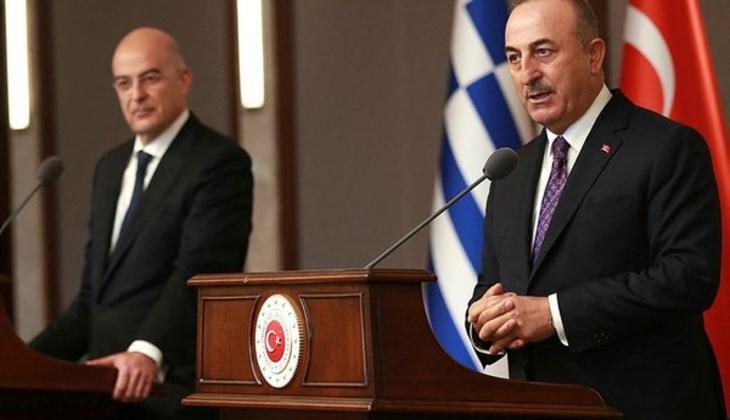 Bakan Çavuşoğlu'na, Yunan mevkidaşından geçmiş olsun telefonu
