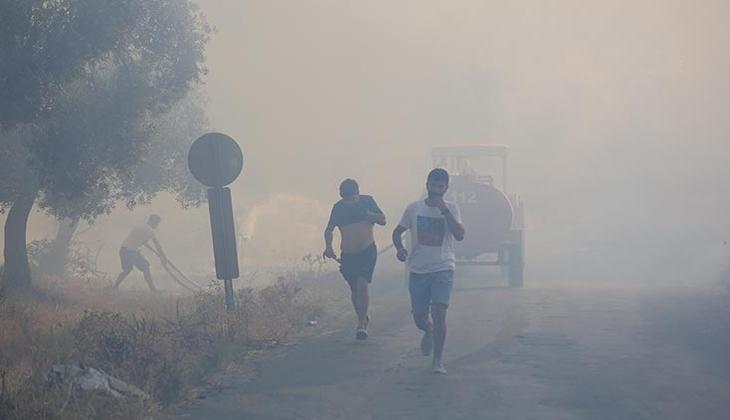 Son dakika haberi! Muğla'da bir yangın daha! Havadan ve karadan müdahale başlatıldı