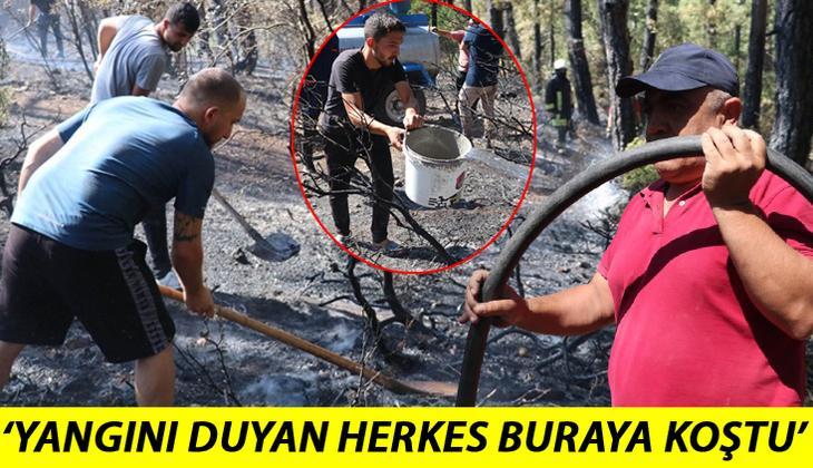 Son dakika haberi: Denizli'de yangın! Vatandaşlar seferber oldu! Bir felaket daha engellendi!