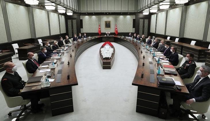 Son dakika: Milli Güvenlik Kurulu toplandı