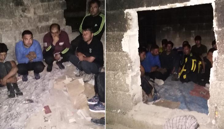 Van'da göçmen operasyonu: 48 kişi yakalandı