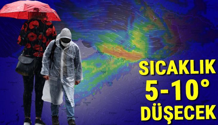 Son dakika... Meteoroloji bölgeleri sıraladı ve uyardı! Aşırı kuvvetli yağış geliyor: 100 kilogram üzeri...