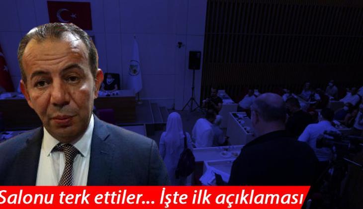 AK Partili meclis üyelerinden tepki! Tanju Özcan özür diledi