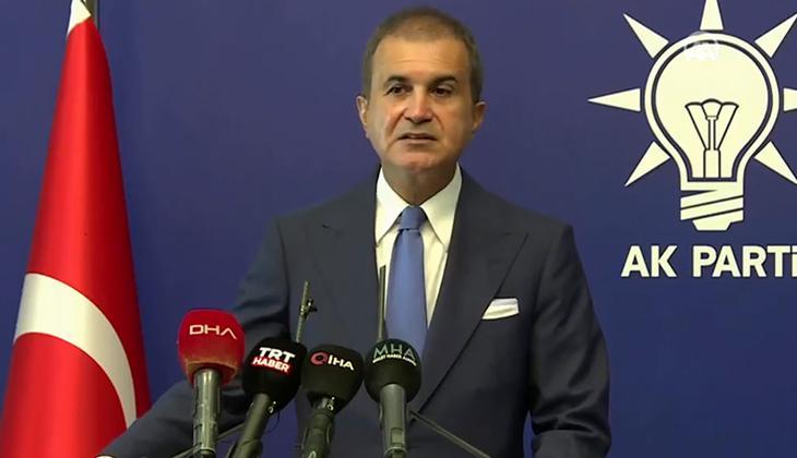Son dakika: AK Parti Sözcüsü Çelik'ten önemli açıklamalar