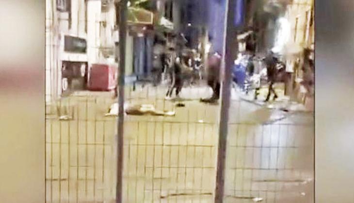 Taksiciden şiddet bahanesi: Almancısınız