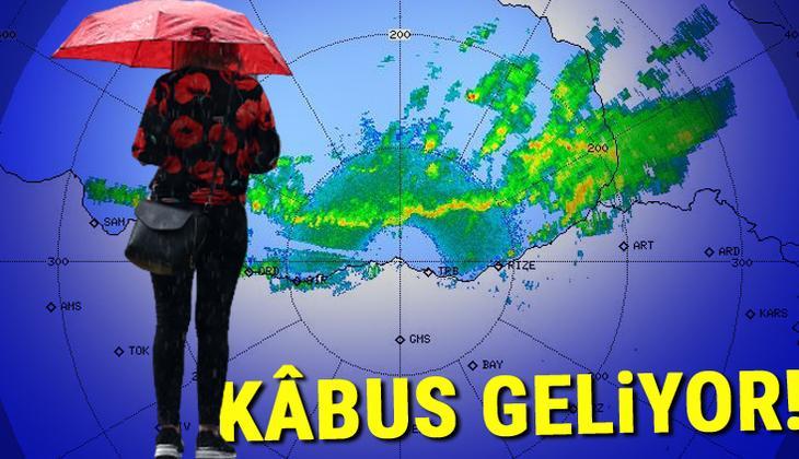 Son dakika: Meteoroloji'den hava durumu raporu! İl il sıralandı: Çok kuvvetli olacak