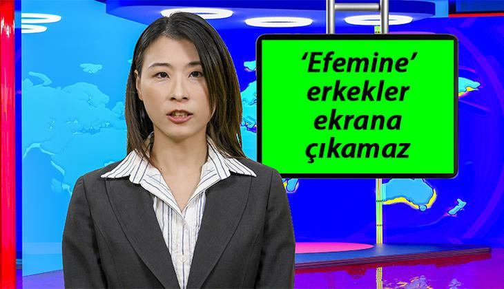 Çin'den televizyonlar için flaş karar: Efemine erkek sunuculara yasak geldi