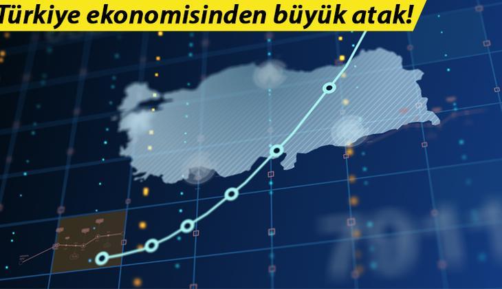 Son dakika... Türkiye ekonomisinden büyük atak! Büyüme ve ihracatta rekor üstüne rekor