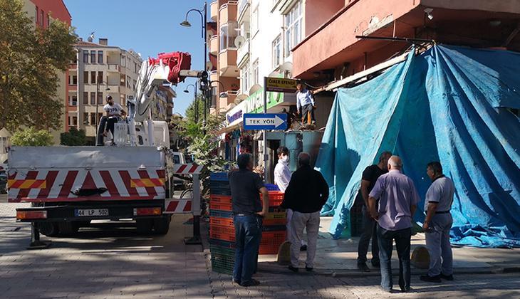 Malatya'da fırında meydana gelen patlama hasara neden oldu