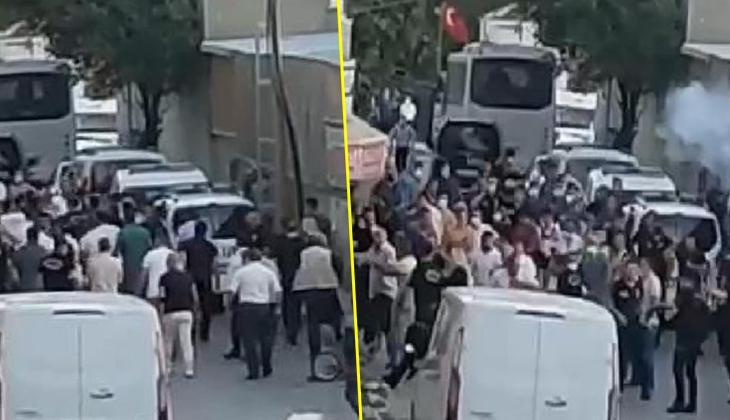 Arnavutköy'de silahlı saldırı sonrası mahalle savaş alanına döndü