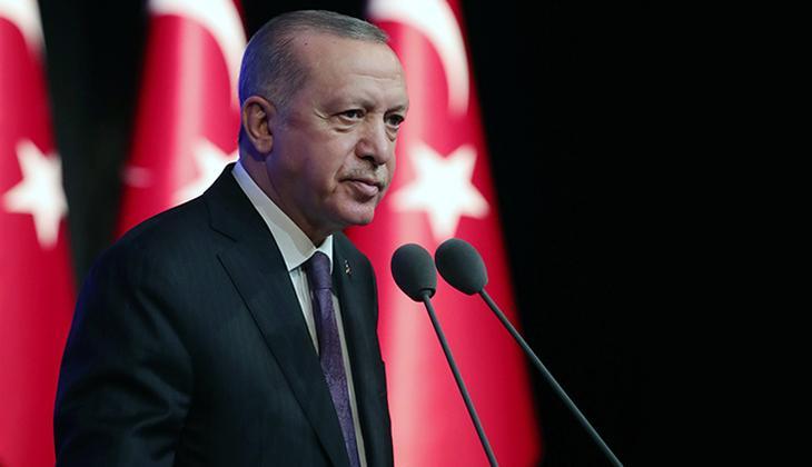Son dakika: Cumhurbaşkanı Recep Tayyip Erdoğan Mali Geçiş Dönemi Devlet Başkanı ile görüştü