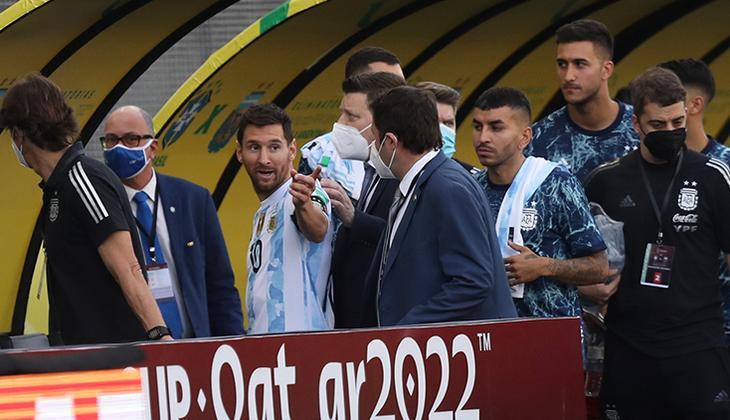 Son Dakika: Brezilya - Arjantin maçında sınır dışı krizi yaşandı! Olaylar sonrası maç askıya alındı