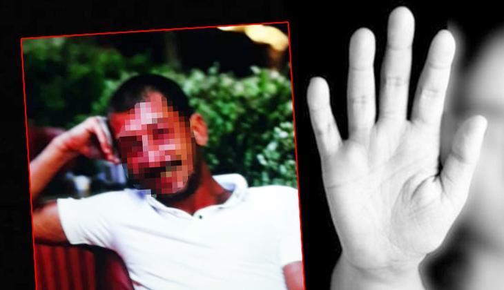 Antalya'da iğrenç olay! Polisi görünce kendini eve kilitledi