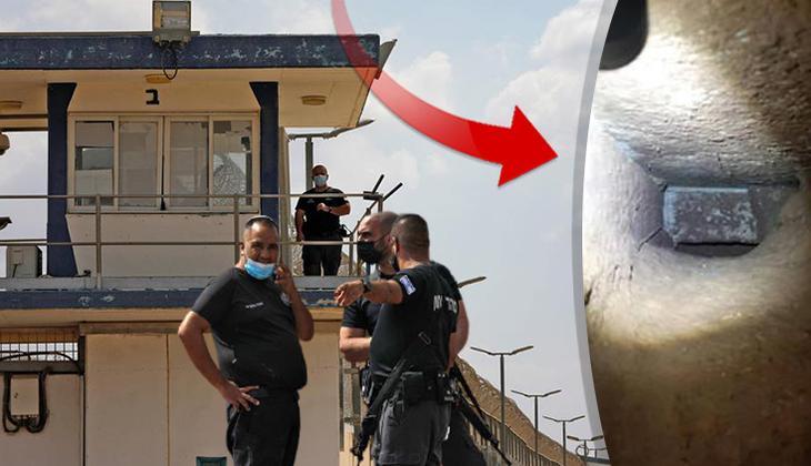 İsrail hapishanesinden firar! 6 Filistinli kaçtı... Görüntüler şaşkına çevirdi