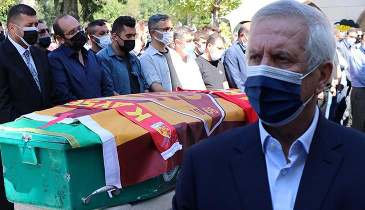 Son Dakika: Kayserispor'un efsane başkanı Recep Mamur toprağa verildi! Cenazede Aziz Yıldırım sürprizi...
