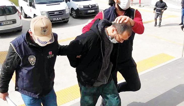 Atatürk büstüne saldırana ilk duruşmada tahliye