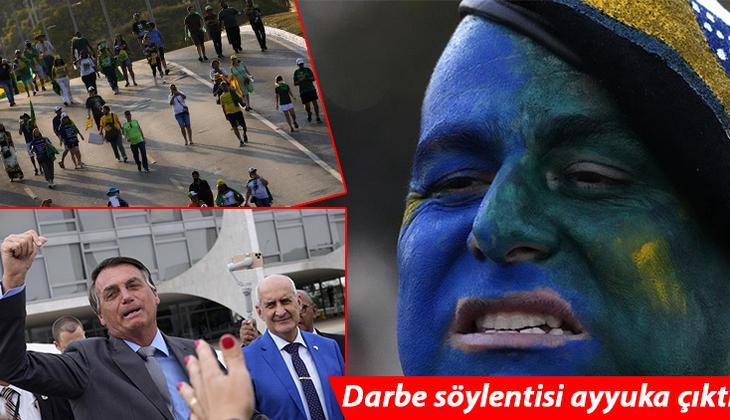 Brezilya'da sokaklar karıştı: Bolsonaro'nun çağrı yaptığı taraftarları AVM'ye saldırdı!