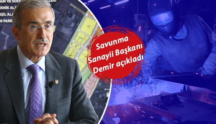 İsmail Demir açıkladı! 15 bin kişiye istihdam sağlanacak