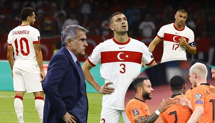 Hollanda 6 - 1 Türkiye (Maç özeti)