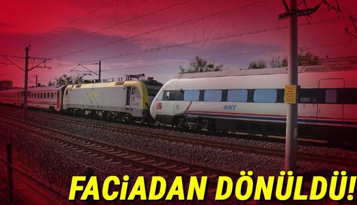 Son dakika... Tuzla'da faciadan dönüldü! İki tren kafa kafaya geldi