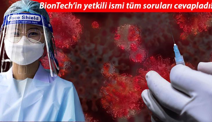Üst düzey yetkili konuştu: BioNTech-Pfizer'dan flaş üçüncü doz ve yan etki açıklaması!
