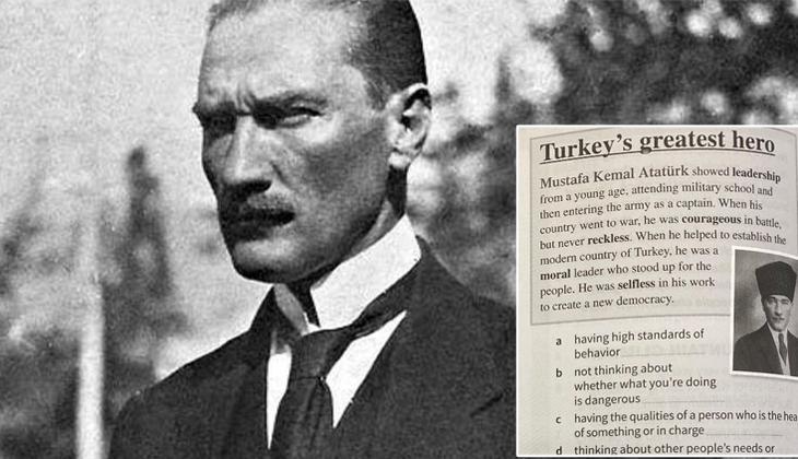 Rum Eğitim Bakanlığından öğretmenlere skandal talimat: Kitabın Atatürk sayfasını yırtın!