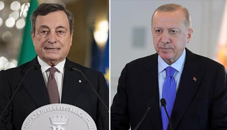Son dakika haberi: Cumhurbaşkanı Erdoğan, İtalya Başbakanı Draghi ile görüştü