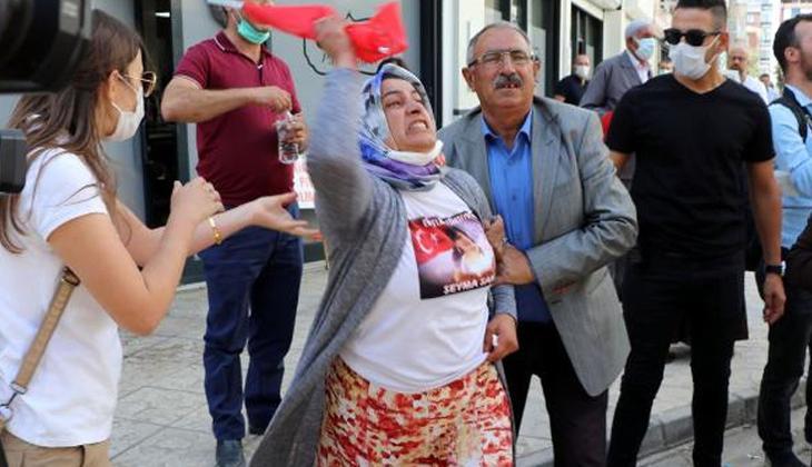 Van'da HDP önünde eylemdeki anneden yürek yakan sözler... 'Kızım savcı olacaktı, hayallerini çaldılar'